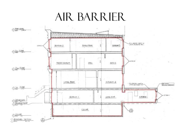 Passive House BKLYN Air Barrier 1
